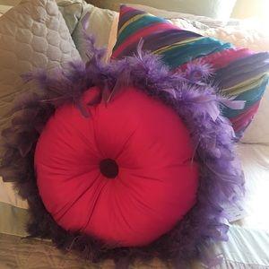 Other - Seventeen Multicolor Decorative Pillows/2 Pillows